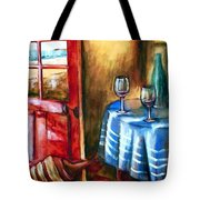 The Mystery Room Tote Bag
