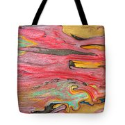 The Mystic Delta Tote Bag by Julia Apostolova