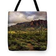 The Mystical Beauty Of The Superstitions  Tote Bag