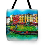 The Mystique Of Italy Tote Bag