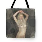 The Naked Dance By Mb Tote Bag