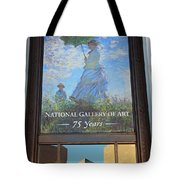 The National Gallery Of Art Is 75 Years Old Tote Bag