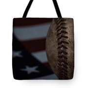 The National Pastime Tote Bag