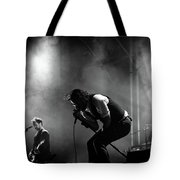 The National Performing At Hyde Park London Tote Bag