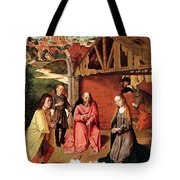 The Nativity By Gerard David  Tote Bag