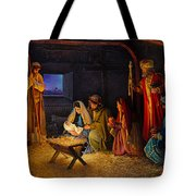 The Nativity Tote Bag by Greg Olsen