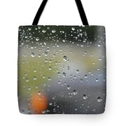 The Natural Lens That Is A Raindrop Tote Bag