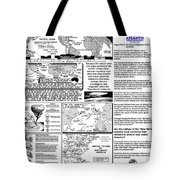 The Nautical Migrations Of Our Ancestors Tote Bag