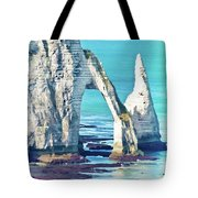 The Needle Of Etretat Tote Bag