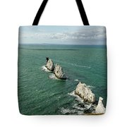 The Needles - Isle Of Wight Tote Bag