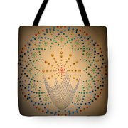 The Net Of Mindfulness Tote Bag