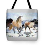The Nevada Herd Tote Bag