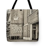The New Drink Sepia Tote Bag