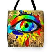 The New Eye Of Horus Tote Bag