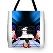 The New Year's Dream - Self Portrait Tote Bag