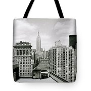 The New York Skyline Tote Bag