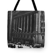 The New York Stock Exchange Tote Bag