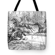 The Newport Pagnel Steeple Chase Tote Bag