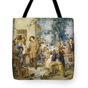 The News Of Villafranca Tote Bag