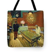The Night Cafe Tote Bag