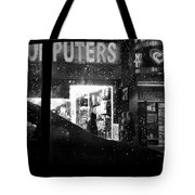 The Night Side Of Town - New York Tote Bag