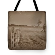 The Night They Drove Old Dixie Down Tote Bag by Bill Cannon