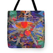 The Nine Lives Of The Heart Tote Bag
