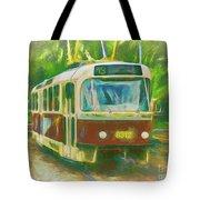 The No. 13 To Cernokostelecka Tote Bag