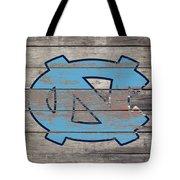 The North Carolina Tarheels 3b  Tote Bag