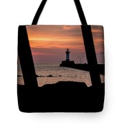 The North Pier Lighthouse Tote Bag