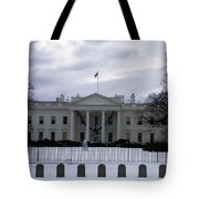 The North View Of The White House Tote Bag