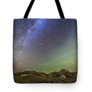 The Northern Autumn Stars Tote Bag