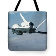 The Northrop Grumman-built Triton Unmanned Aircraft System Tote Bag