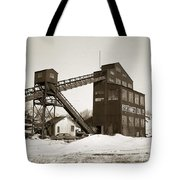 The Northwest Coal Company Breaker Eynon Pennsylvania 1971 Tote Bag