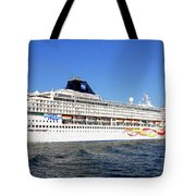 The Norwegian Sun Is Leaving Tote Bag by Susanne Van Hulst