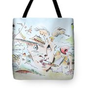 The Novelist Tote Bag