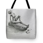 The Nude  Sculpture Tote Bag