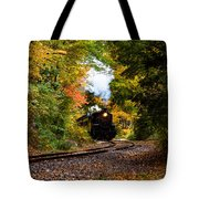 The Number 40 Rounding The Bend Tote Bag