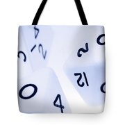The Numbers Game Tote Bag