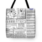 The Numerical Alphabet Of Ogam Tote Bag