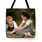 The Nut Gatherers Tote Bag by William-Adolphe Bouguereau