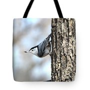 The Nuthatch Tote Bag