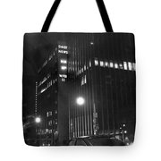 The Ny Daily News Building Tote Bag