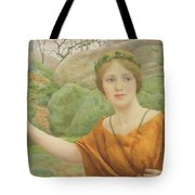 The Nymph Tote Bag by Thomas Cooper Gotch