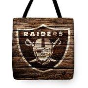 The Oakland Raiders 1e Tote Bag