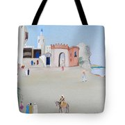 The Oasis North Africa Tote Bag