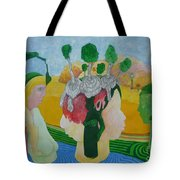 The Oasis Of Desire Tote Bag
