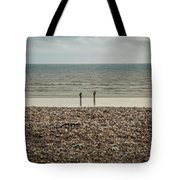 The Ocean Can Make You Feel Small, Bognor Regis, Uk. Tote Bag