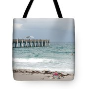 The Ocean Pier Tote Bag
