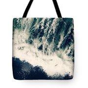 The Ocean Roars Tote Bag